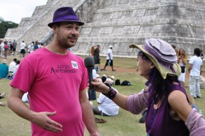 Interview with Kevin Whitesides in Chitzen Itza
