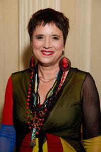 Caroline Hosts Eve Ensler and Bob Gough