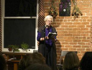 Caroline hosts Susan Griffin