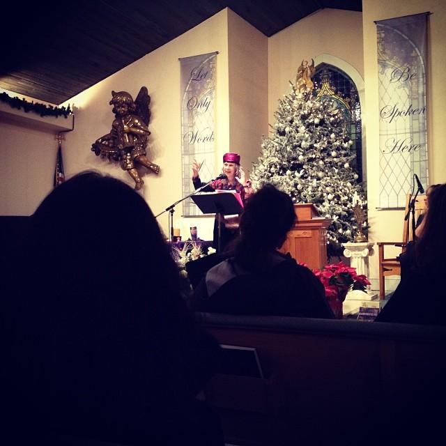 Caroline Casey - Winter Solstice Eve - 2013