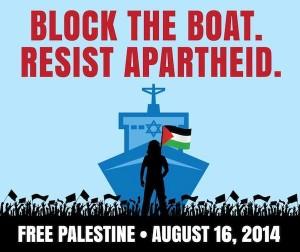 Block the Boat - Resist Apartheid