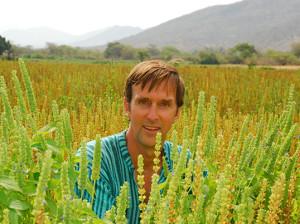 John Roulac in field