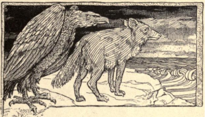 In_the_reign_of_coyote_(1905)_The_creation_of_the_world